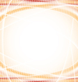 Abstract orange design template vector image vector image