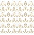 abstract white and gold seamless lines pattern vector image vector image