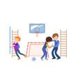 children school behavior vector image vector image