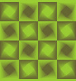 green abstract background checker patterns with vector image vector image