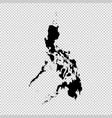 map philippines isolated vector image vector image