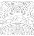 adult coloring bookpage an abstract background