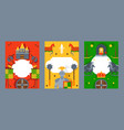 chivalric business banner knight poster style for vector image