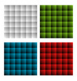 colorful rectangles abstract background vector image vector image