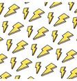 doodle nice light thunder art background vector image vector image