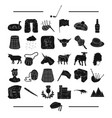 entertainment animal textile and other web icon vector image vector image