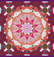 mandala pattern arabic vintage decorative vector image