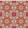 Seamless doodle pattern ethnic motives cream and