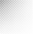 Abstract monochrome star pattern background design vector image vector image
