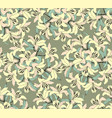 floral seamless pattern flower background bloom vector image vector image