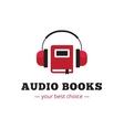 modern audio books store logo red book