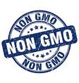 non gmo stamp vector image vector image