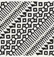 seamless ethnic and tribal pattern hand drawn vector image vector image