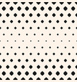 seamless pattern with halftone effect vertical vector image vector image