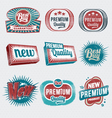 Vintage Retro Label Set vector image vector image