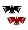 Imperial heraldic eagle with outspread wings vector image