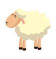 sheep manger animal character image vector image