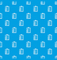 checklist pattern seamless blue vector image vector image
