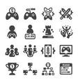 esport icon vector image vector image