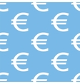 Euro seamless pattern vector image vector image