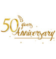 happy anniversary celebration design vector image vector image