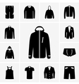 Man clothing part 2 vector image vector image