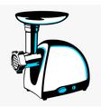 Meat grinder vector image
