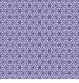 seamless with violet snowflakes vector image