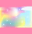 unicorn backdrop background color gradient mesh vector image vector image