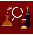 Winemaking vector image