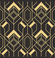 abstract art deco pattern02 vector image vector image