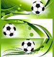 Abstract football banners vector | Price: 1 Credit (USD $1)