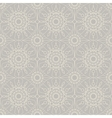 Beige vintage lace seamless ornament vector image vector image