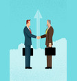 business deal concept vector image vector image