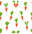 carrot pattern vector image