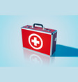 closed medical bag template vector image