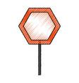 empty road sign vector image