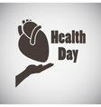 Health Day Emblem vector image vector image