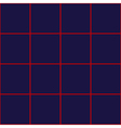 Red Grid Square Royal Blue Background vector image vector image