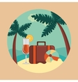 Summer and travel vector image vector image