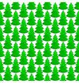 Christmas watercolor tree ornament vector image