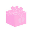 baby shower object vector image