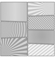 comic book page gray background vector image