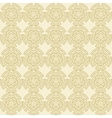 Golden geometric seamless ornament vector image vector image
