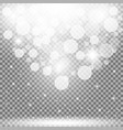 particles of light vector image