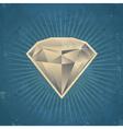 Retro Diamond vector image vector image