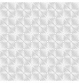 seamless isolated lines vector image