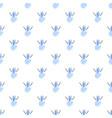 snow man pattern seamless vector image vector image