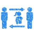 swingers exchange girl grunge icon vector image vector image