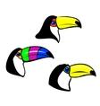 Toucan mascot vector image vector image